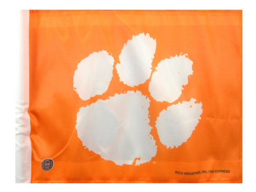 Clemson Tigers Rico Industries Car Flag