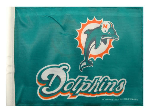 Miami Dolphins Rico Industries Car Flag Rico