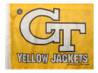 Georgia Tech Yellow Jackets Rico Industries Car Flag Auto Accessories