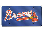 Atlanta Braves Rico Industries Acrylic Laser Tag Auto Accessories