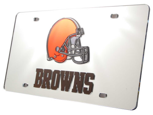Cleveland Browns Rico Industries Acrylic Laser Tag