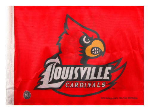 Louisville Cardinals Rico Industries Car Flag