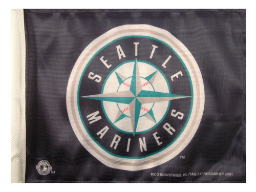 Seattle Mariners Rico Industries Car Flag Rico