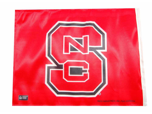North Carolina State Wolfpack Rico Industries Car Flag