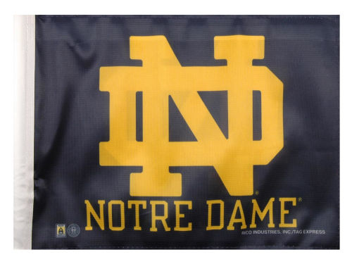 Notre Dame Fighting Irish Rico Industries Car Flag Rico