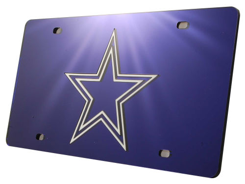 Dallas Cowboys Rico Industries Acrylic Laser Tag