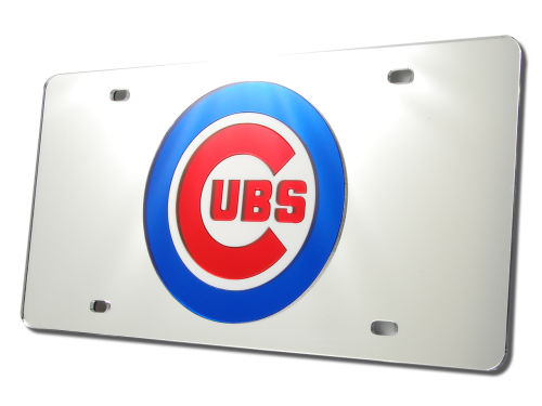 Chicago Cubs Rico Industries Acrylic Laser Tag