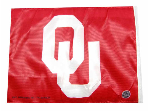 Oklahoma Sooners Rico Industries Car Flag Rico
