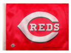 Cincinnati Reds Rico Industries Car Flag Auto Accessories