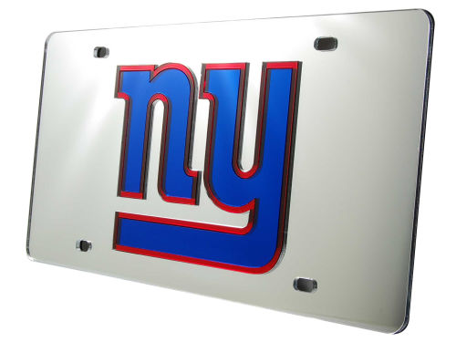 New York Giants Rico Industries Acrylic Laser Tag