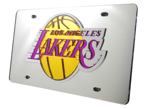 Los Angeles Lakers Rico Industries Acrylic Laser Tag