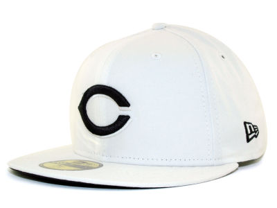 Cincinnati Reds MLB White And Black 59FIFTY Hats