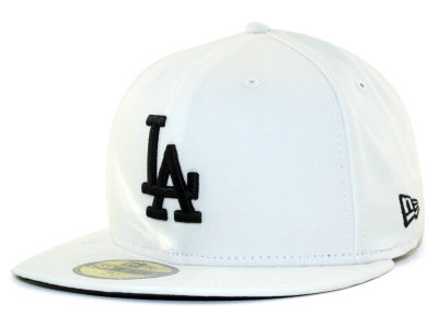 Los Angeles Dodgers MLB White And Black 59FIFTY Hats