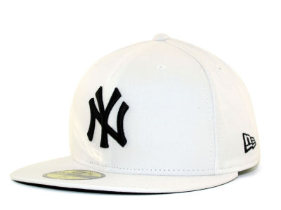 New York Yankees MLB White And Black 59FIFTY Hats