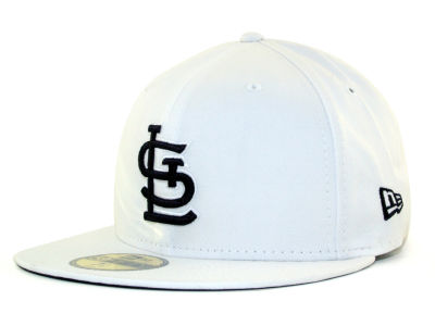 St. Louis Cardinals MLB White And Black 59FIFTY Hats
