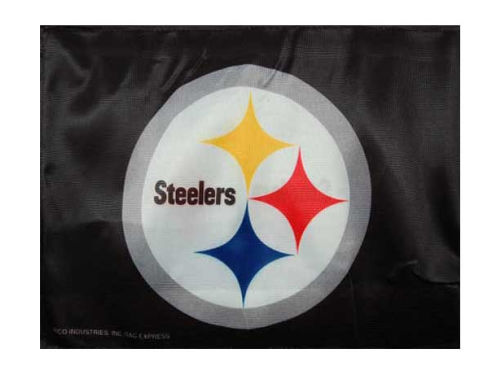 Pittsburgh Steelers Rico Industries Car Flag