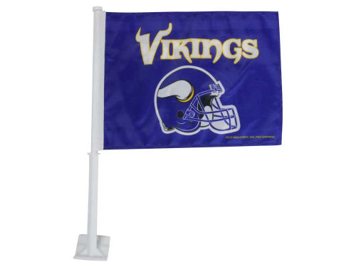 Minnesota Vikings Rico Industries Car Flag