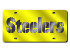 Pittsburgh Steelers Rico Industries Acrylic Laser Tag Auto Accessories