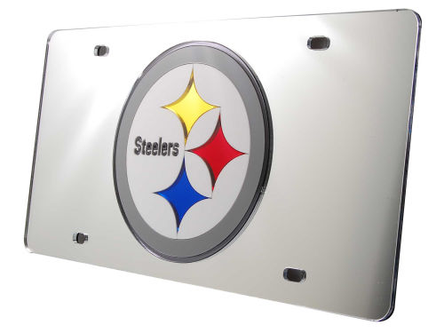 Pittsburgh Steelers Rico Industries Acrylic Laser Tag