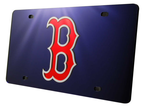 Boston Red Sox Rico Industries Acrylic Laser Tag