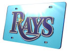 Tampa Bay Rays Rico Industries Acrylic Laser Tag Auto Accessories