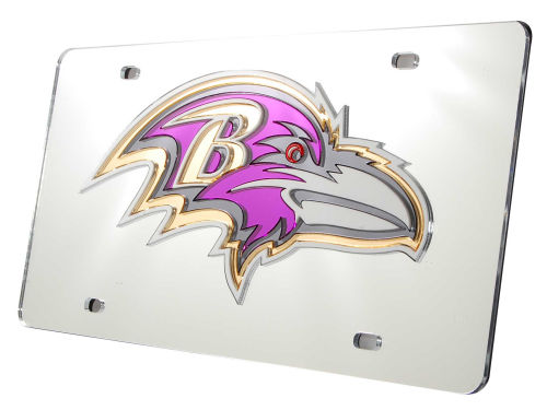 Baltimore Ravens Rico Industries Acrylic Laser Tag