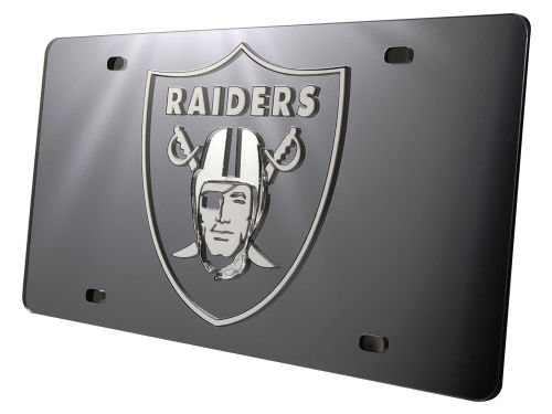 Oakland Raiders Rico Industries Acrylic Laser Tag