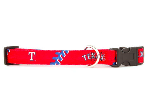 Texas Rangers Medium Dog Collar