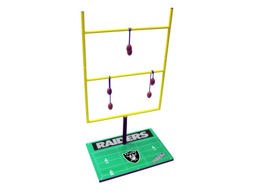 Oakland Raiders Football Toss 2009
