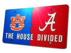 Auburn Tigers House Divided Laser Tag Auto Accessories