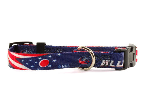 Columbus Blue Jackets Hunter Manufacturing Small Dog Collar