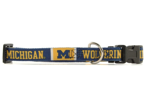 Michigan Wolverines Hunter Manufacturing Small Dog Collar