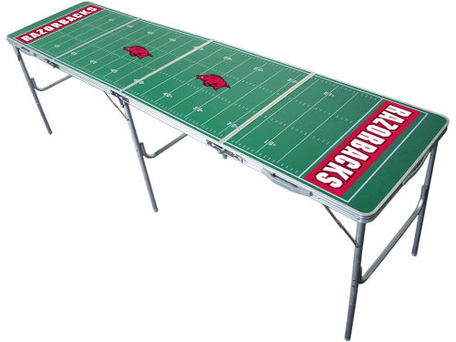 Arkansas Razorbacks 2x8 Tailgate Table-WS