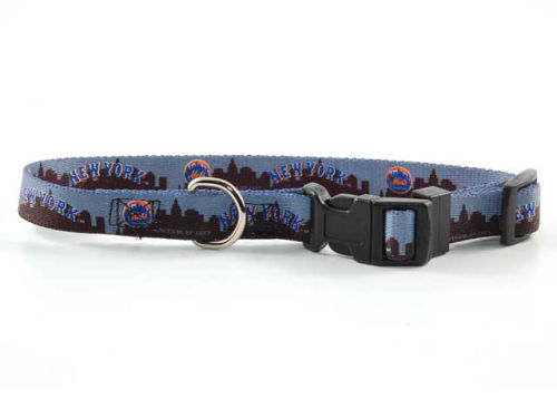 New York Mets Hunter Manufacturing Small Dog Collar