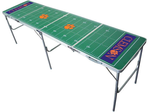 Clemson Tigers 2x8 Tailgate Table-WS
