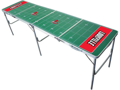 Louisville Cardinals 2x8 Tailgate Table-WS