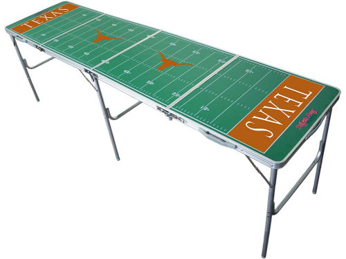 Texas Longhorns 2x8 Tailgate Table-WS