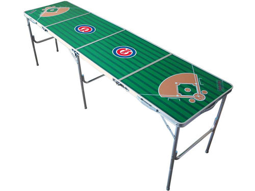 Chicago Cubs 2x8 Tailgate Table-WS