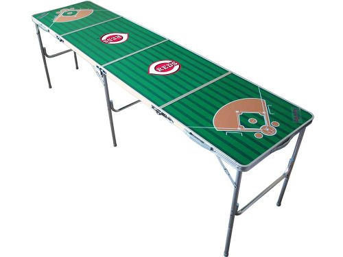 Cincinnati Reds 2x8 Tailgate Table-WS