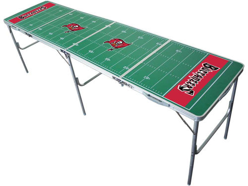 Tampa Bay Buccaneers 2x8 Tailgate Table-WS