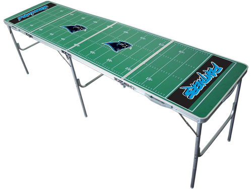 Carolina Panthers 2x8 Tailgate Table-WS