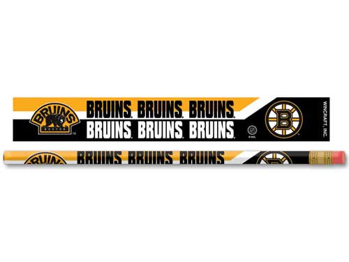Boston Bruins Wincraft 6 Pack Pencils
