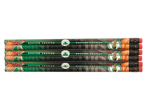 Boston Celtics Wincraft 6 Pack Pencils
