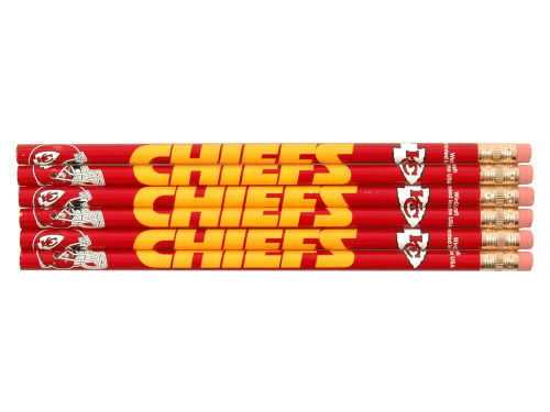 Kansas City Chiefs Wincraft 6pk Pencils