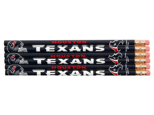 Houston Texans Wincraft 6 Pack Pencils