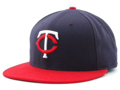 Minnesota Twins New Era MLB Authentic Collection 59FIFTY Hats