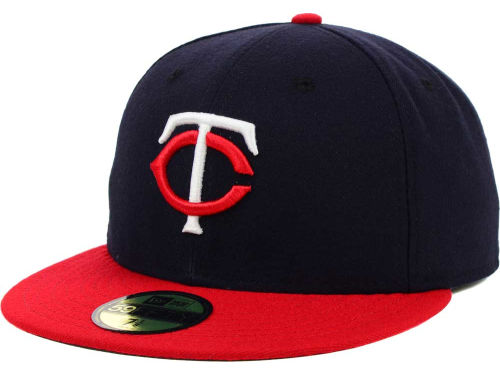Minnesota Twins New Era MLB Authentic Collection 59FIFTY Cap Hats