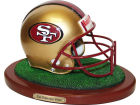 San Francisco 49ers Replica Helmet with Wood Base Collectibles