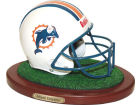 Miami Dolphins Replica Helmet with Wood Base Collectibles