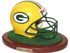 Green Bay Packers Replica Helmet with Wood Base Collectibles